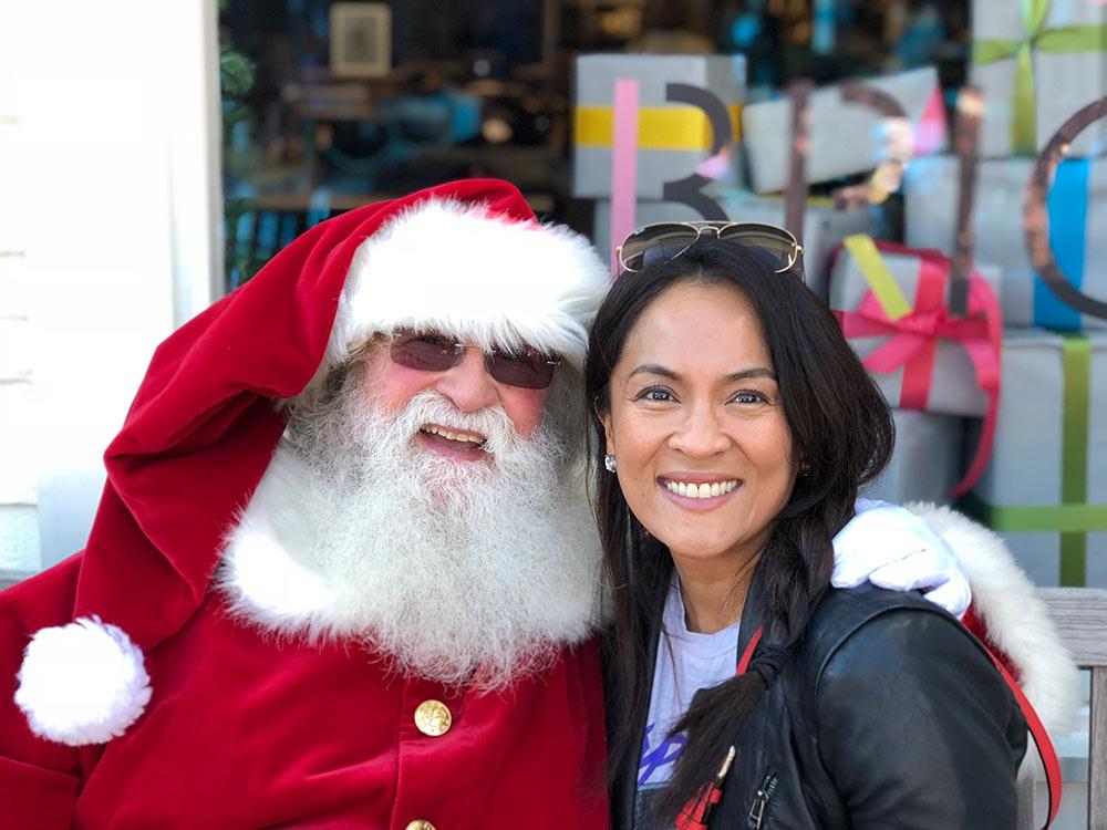 karen and santa