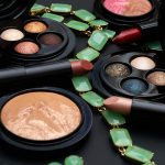 A MAC Jade Jagger Face of the Day With Golden Shine Mineralize Eye Shadow X 4