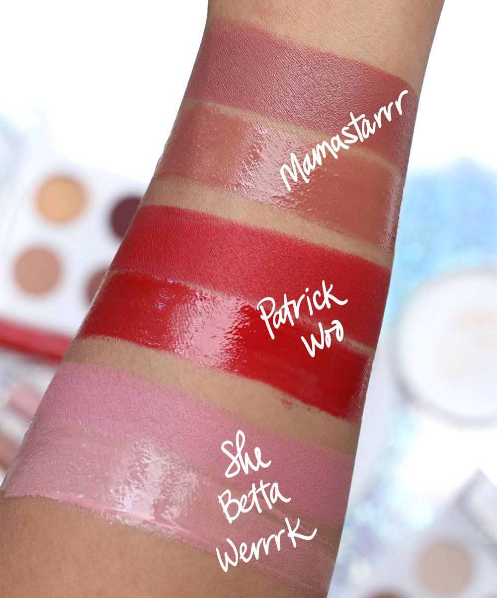 mac patrick starrr lipsticks lipglasses