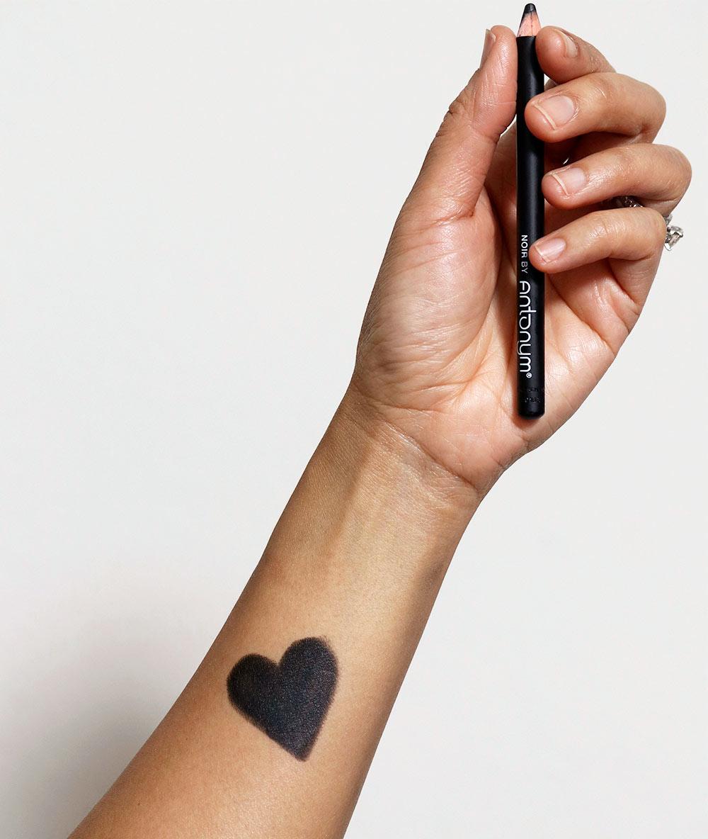 antonym cosmetics noir eyeliner swatch