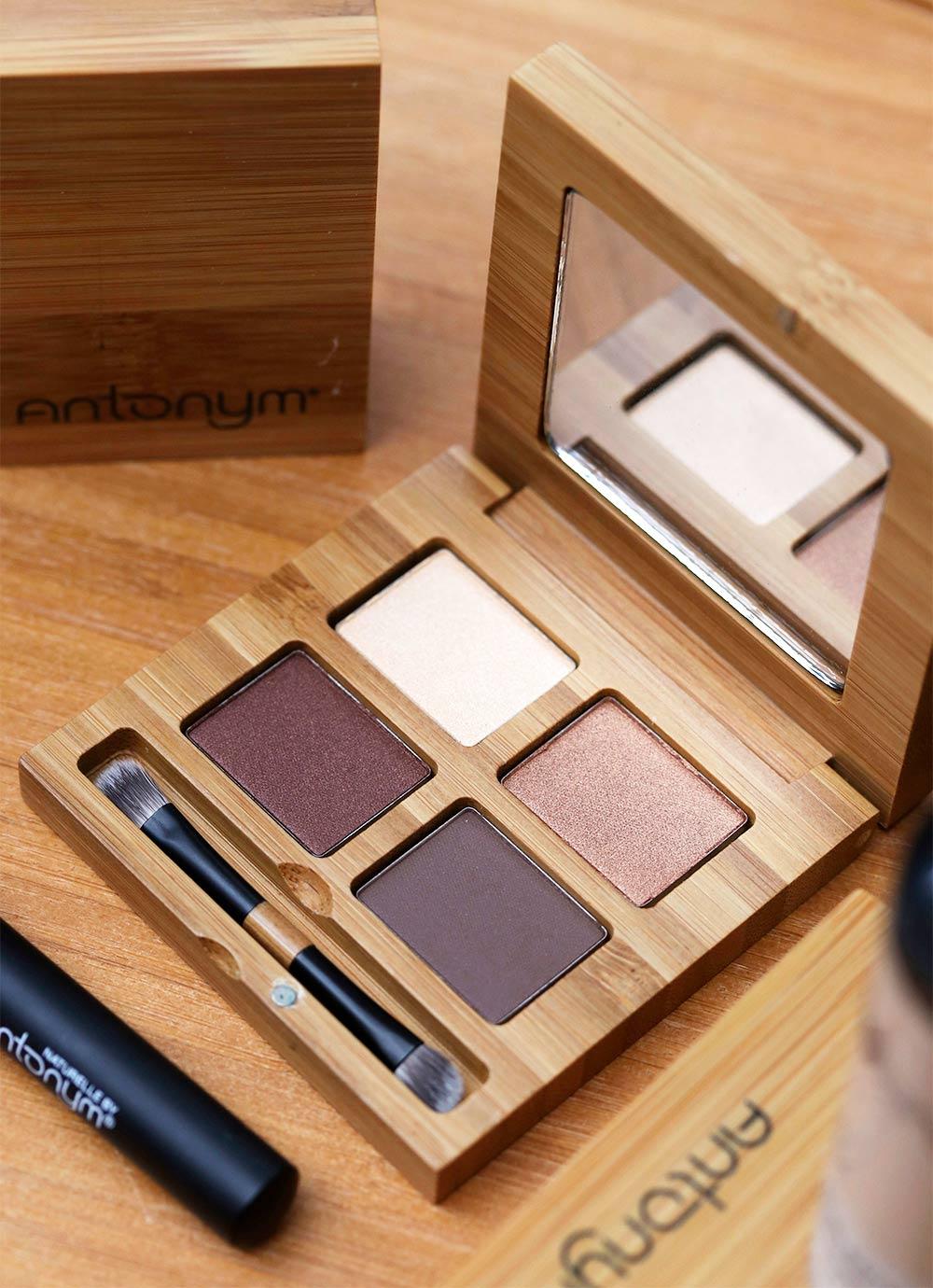 antonym cosmetics quattro eyeshadow noisette