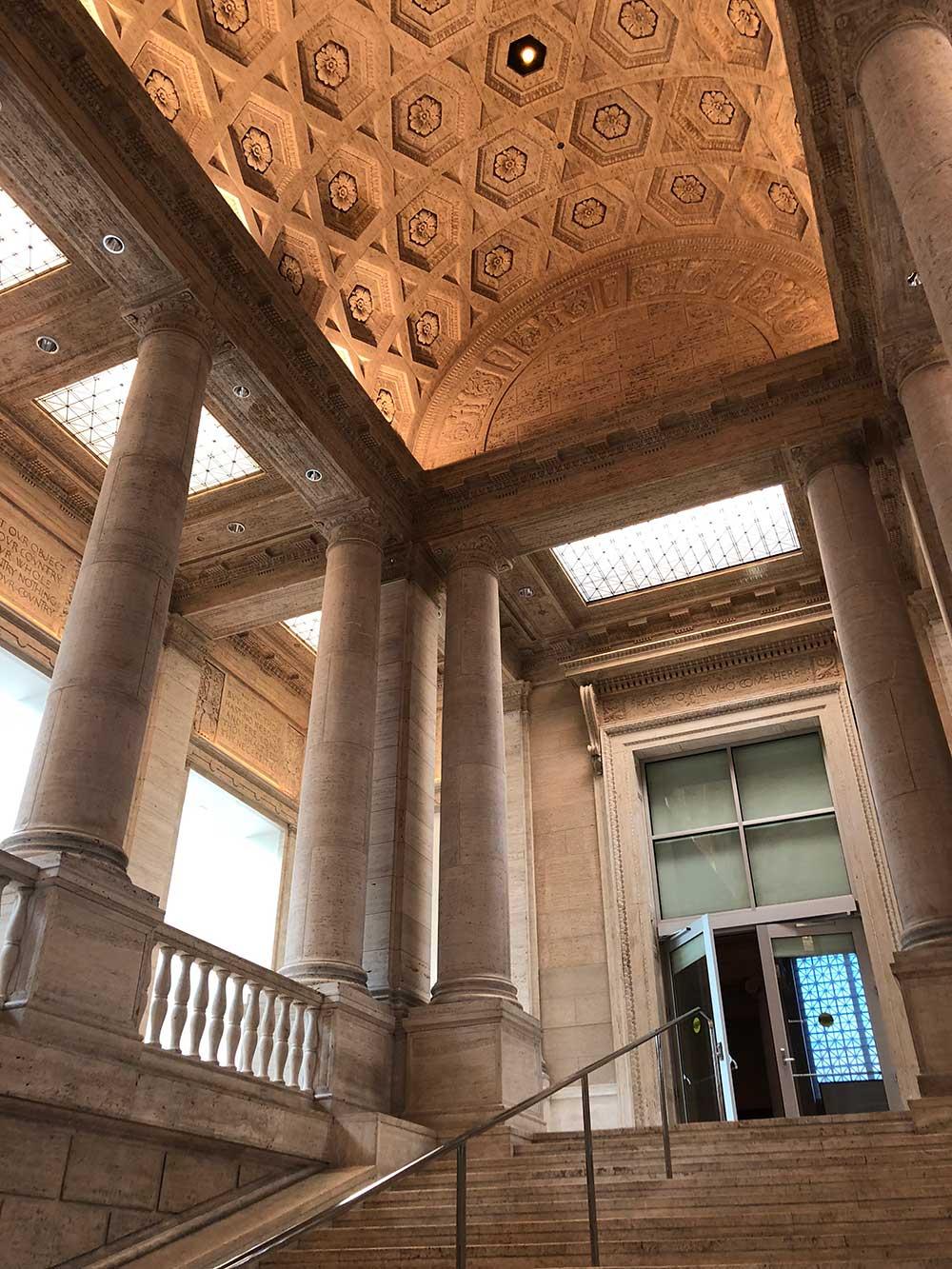 asian art museum stairwell 3