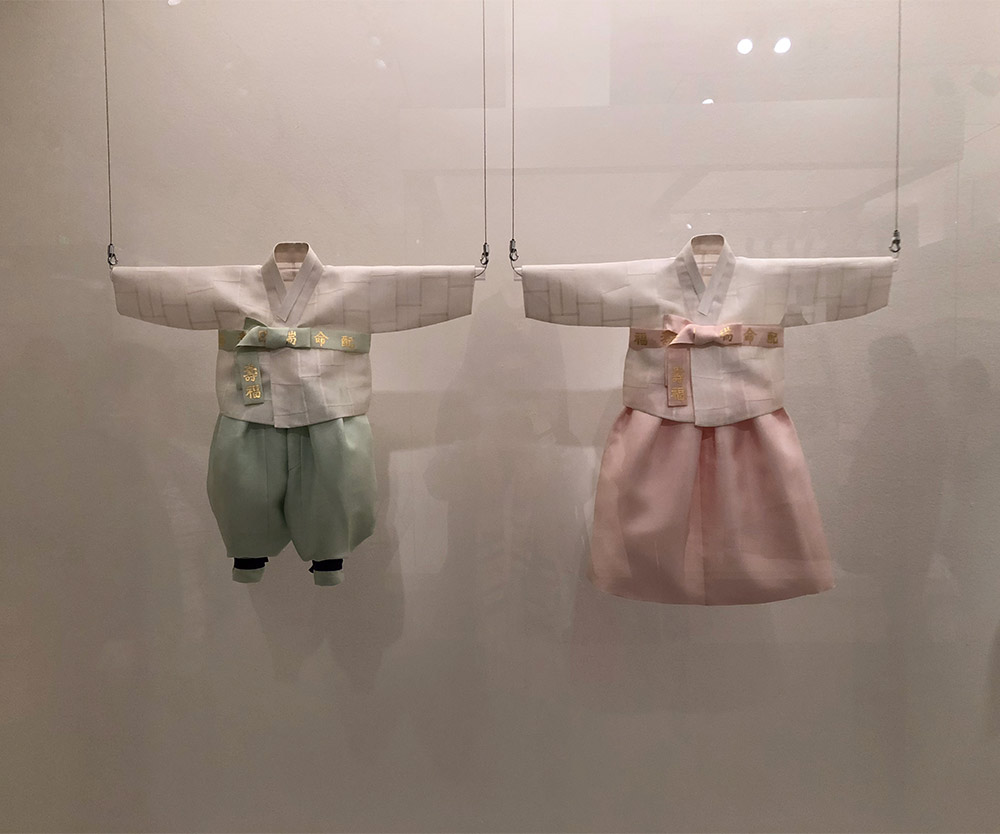 couture korea asian art museum boy girl hanbok