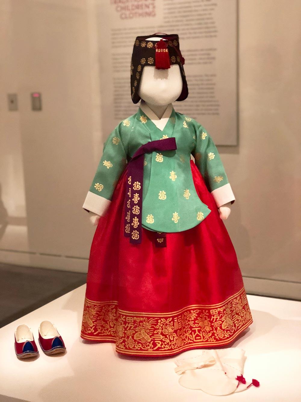 couture korea asian art museum girl hanbok