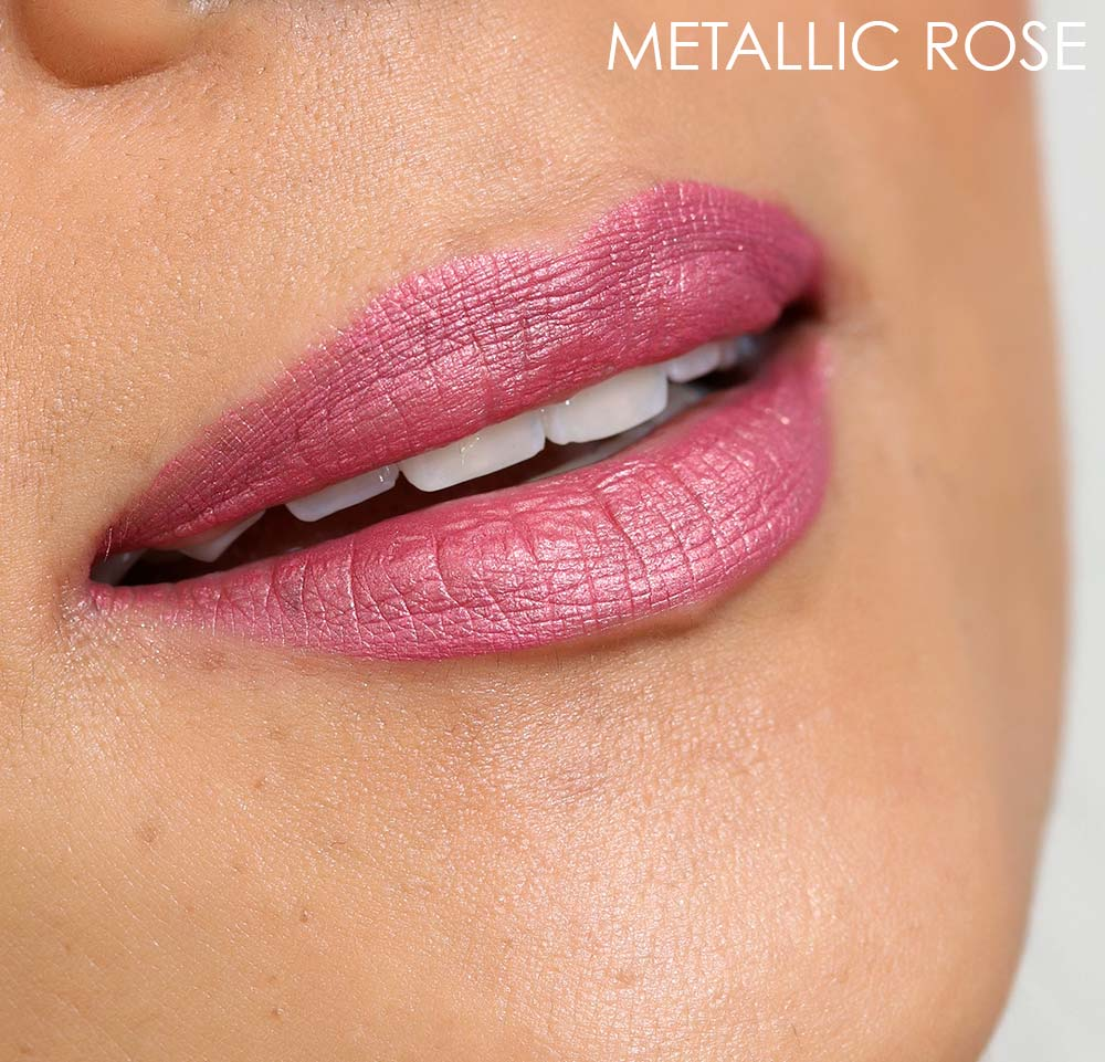 mac metallic rose