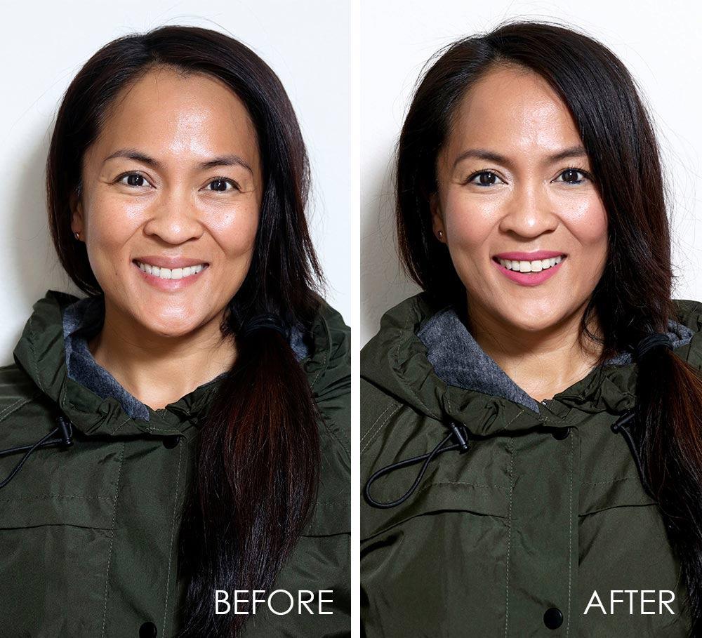 rainy day makeup tutorial 1
