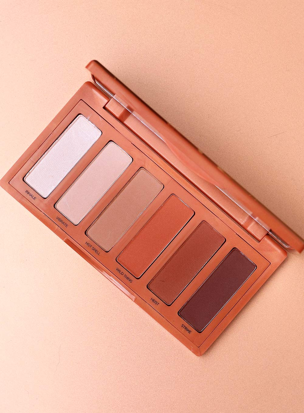urban decay naked petite heat swatches