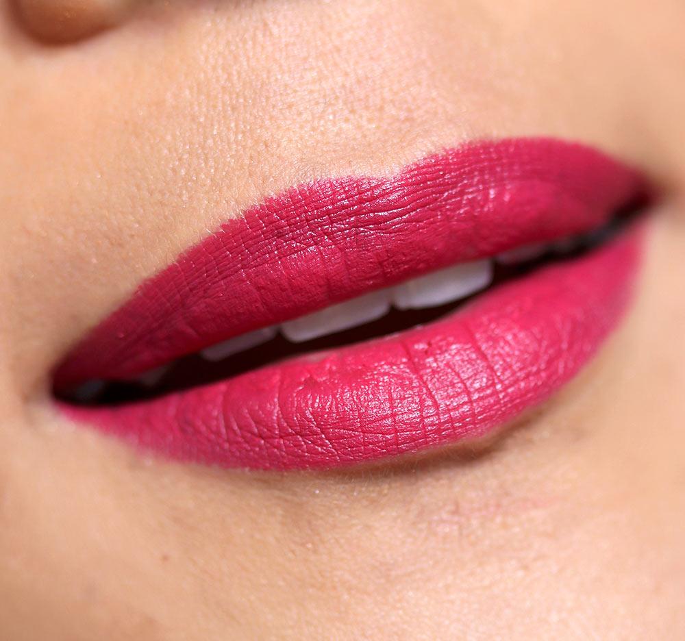 mac mittai pink lipstick