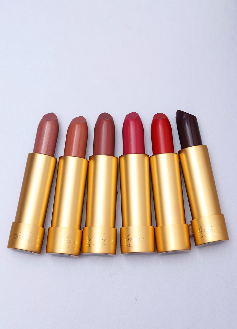 mac padma lakshmi collection lipsticks