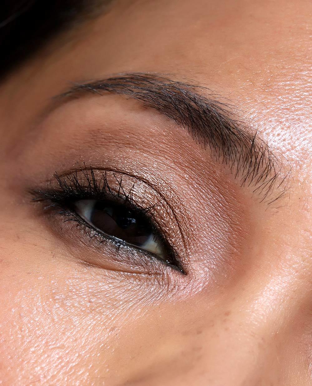 mac risk taker palette eye closeup
