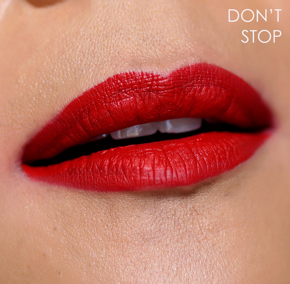 nars dont stop lip swatch