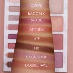 urban decay backtalk palette swatches