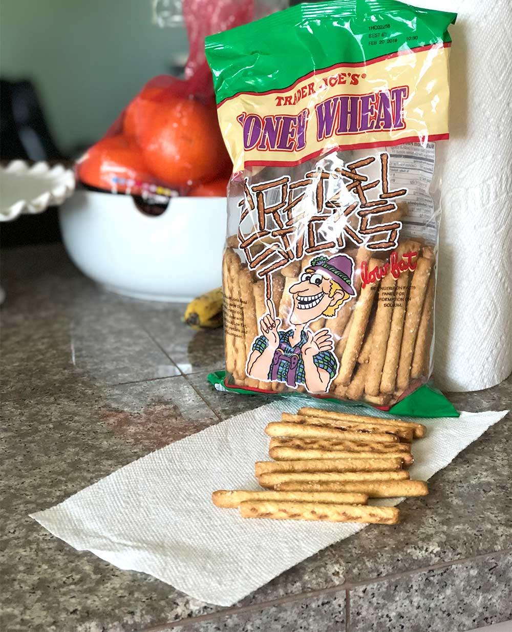 honey wheat pretzel sticks