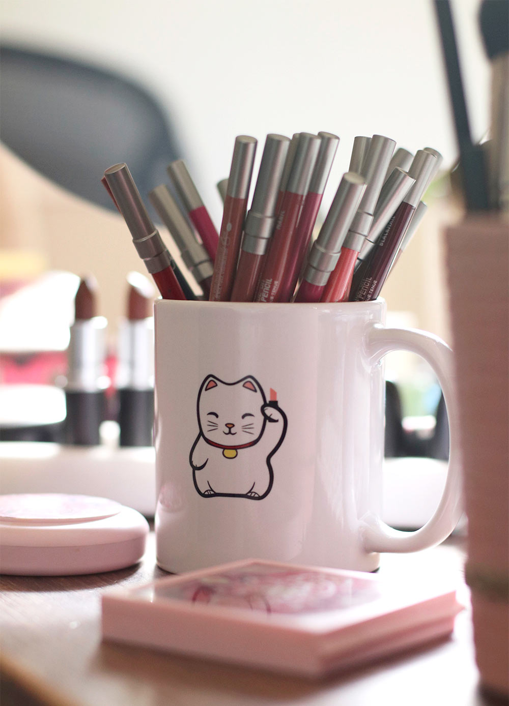 lucky cat mug connor claire store
