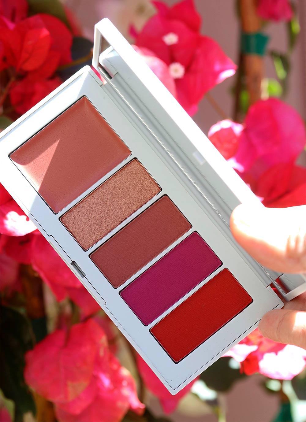 nars poison rose lip powder palette