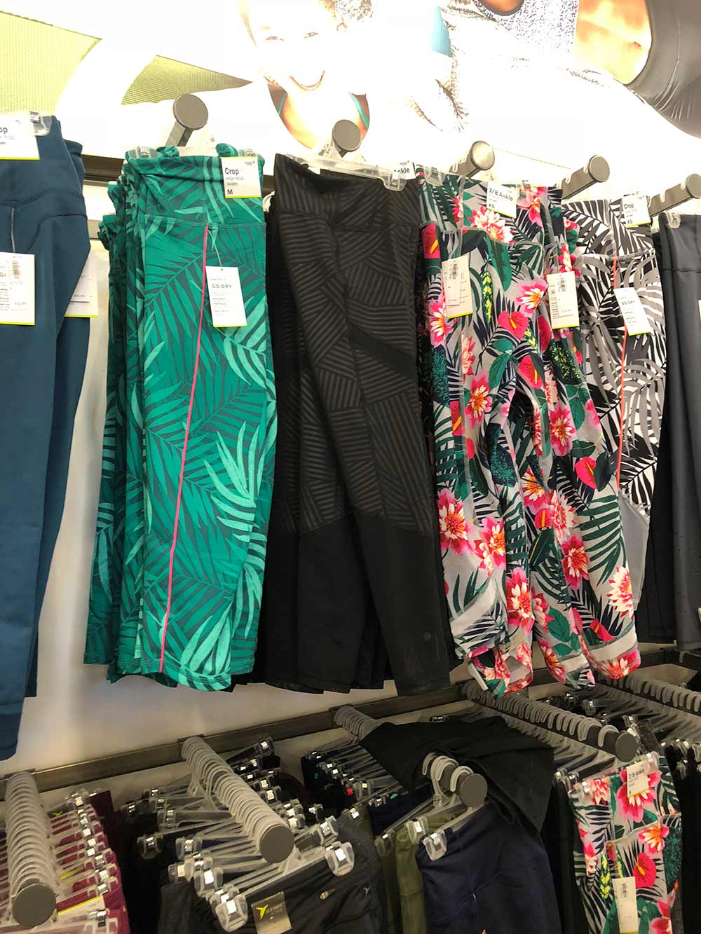 old navy tropical leggings