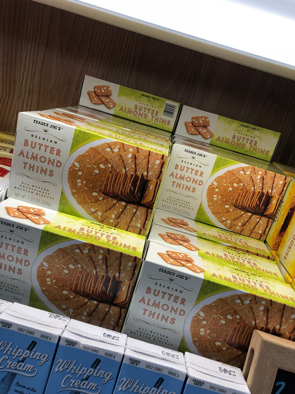 trader joes butter almond thins