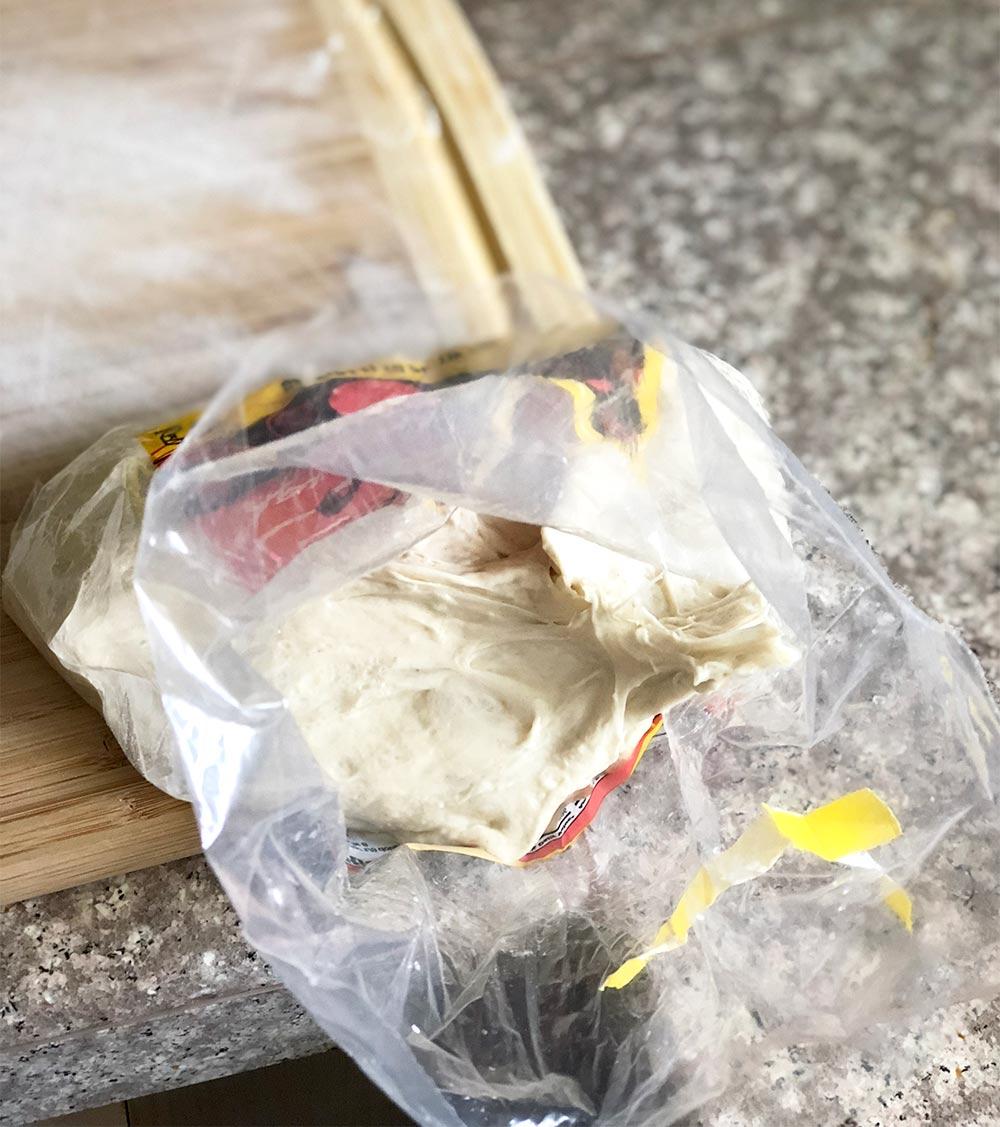 trader joes pizza dough inside bag 2