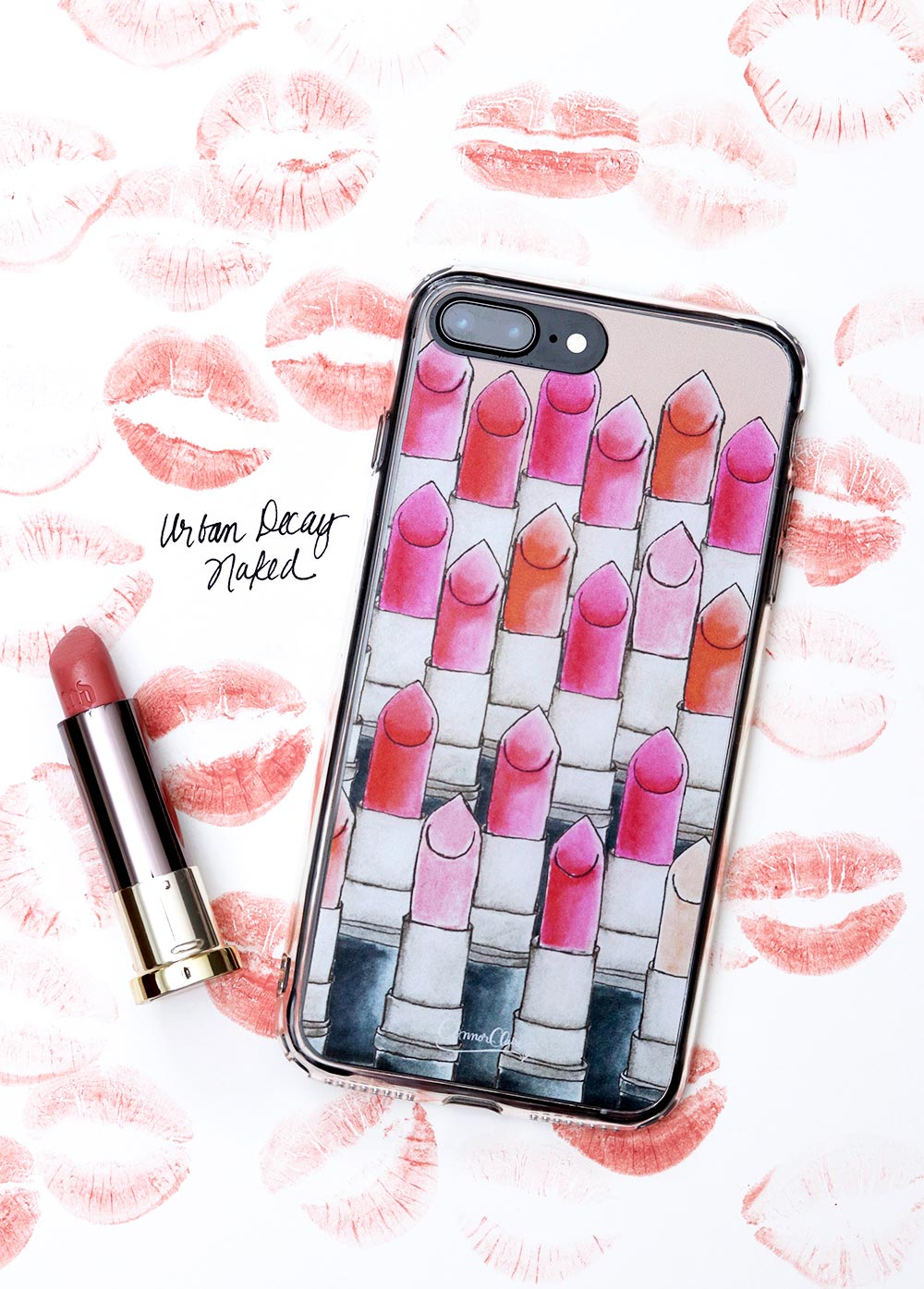 urban decay naked lipstick attention lipstick iphone case final