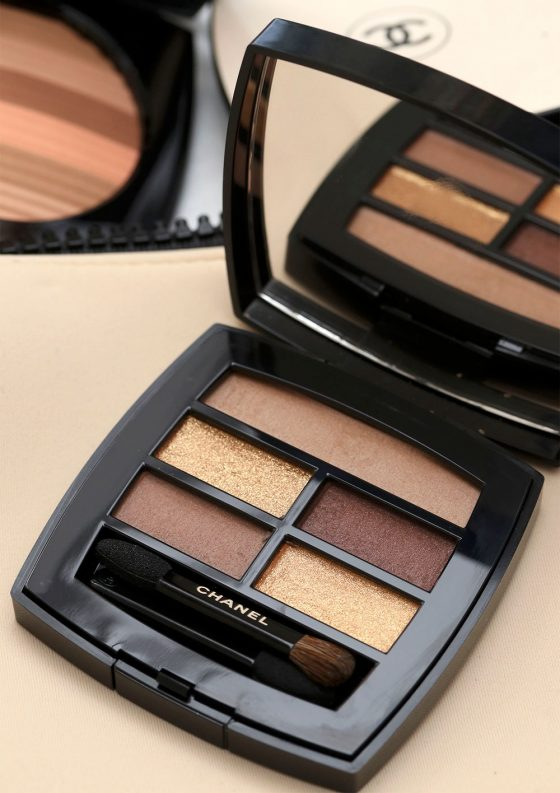 Chanel Les Beiges Healthy Glow Natural Eyeshadow Palette in Deep (Take One)