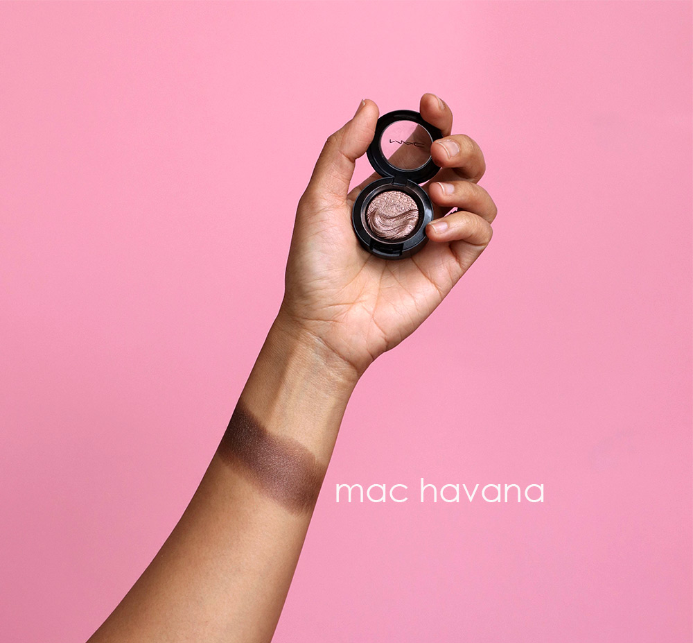 mac havana swatch