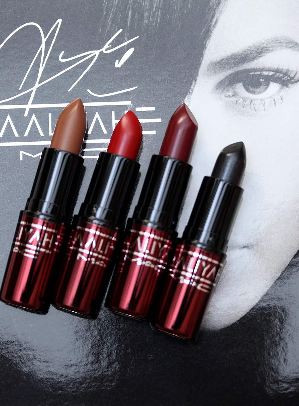 mac aaliyah lipsticks