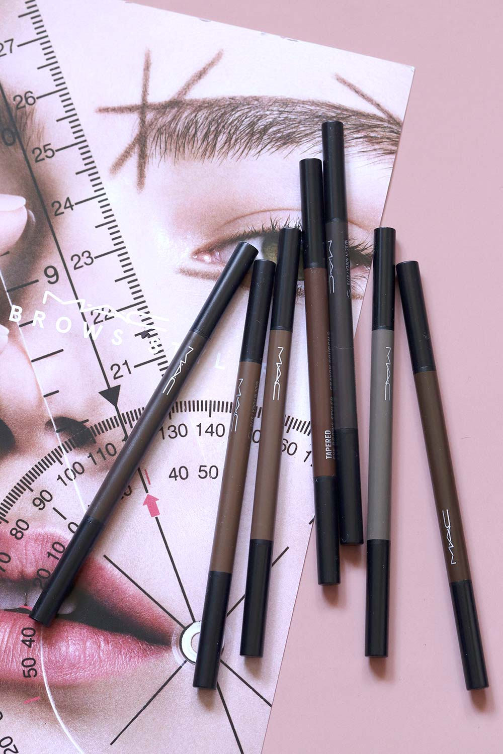 mac eye brows styler