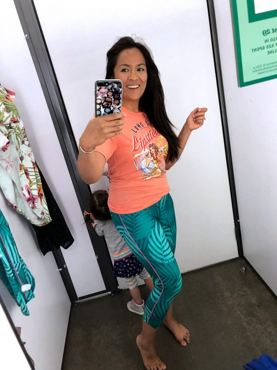Old Navy Leggings/Summer 2018: Dressing Room Try-Ons and a 50% Off Sale