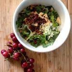 Trader Joe's Hack! A Waldorf-y Tuna Salad With Their Mediterranean Style Salad Kit (5-Minute Meal)