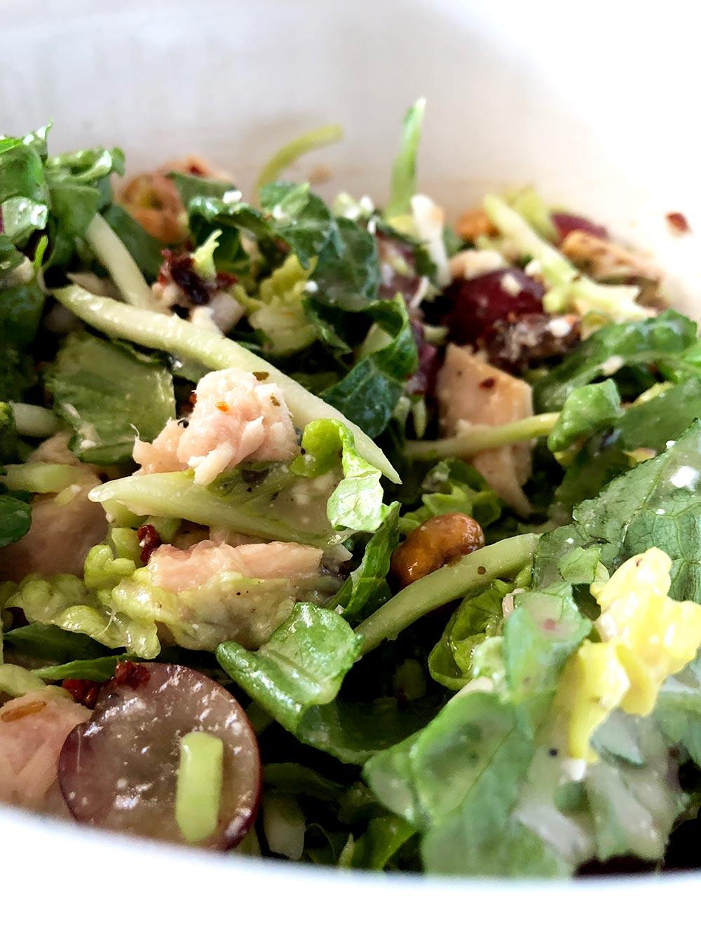 trader joes hacks waldorf tuna salad