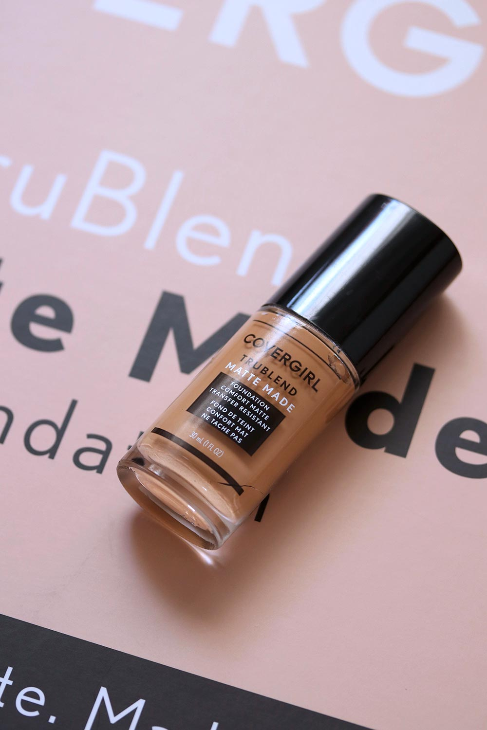 covergirl trueblend matte made foundation