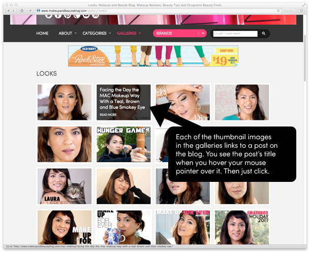 The Makeup and Beauty Blog Galleries
