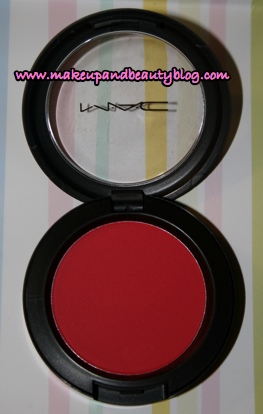 MAC-Frankly-scarlet-blush-082007-fotd