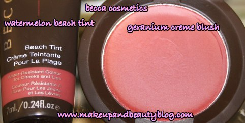 becca-blush-watermelon-beach-tint-geranium-creme-blush