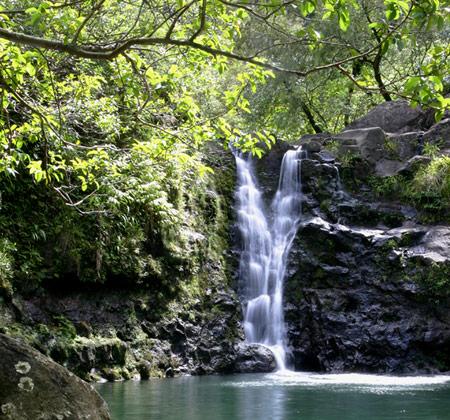 Hawaii waterfalls - Michael Kors Island Perfumes