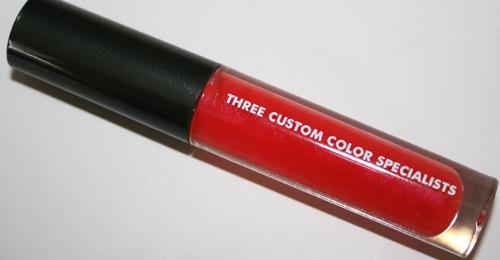 three custom color specialists papaya crush lipgloss wand product shot