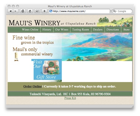 mauiwinery