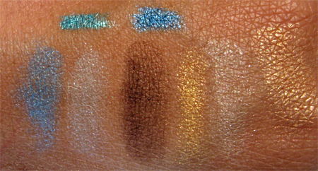 estee lauder bronze goddess pencil palette swatches
