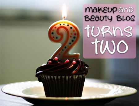 makeup and beauty blog second birthday cupcake