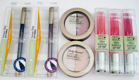 Sally Hansen Natural Beauty  Inspired by Carmindy all products in packages