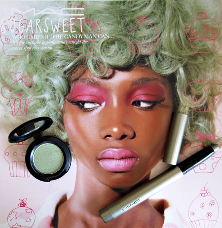 mac sugarsweet aquavert cakeshop