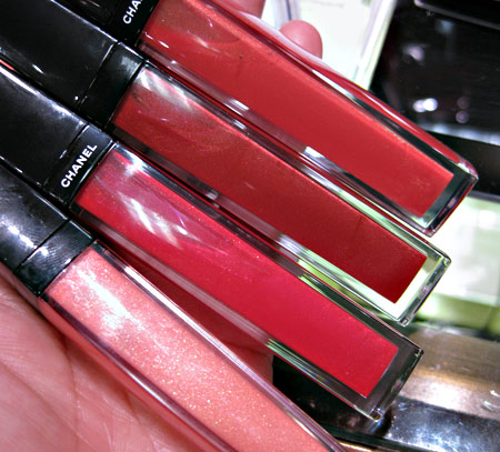 Chanel Cote DAzur Collection Summer 2009 Aqualumiere Gloss Candy Glow Cherry Blossom Ginger Shimmer Tangerine Dream 11