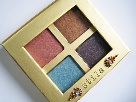 Stila Indian Summer 2009 Charmed Eyeshadow Palette Closed