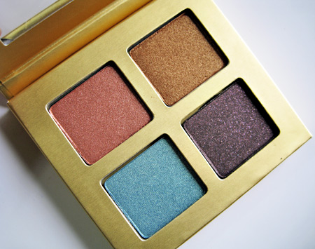 Stila Indian Summer 2009 Charmed Eyeshadow Palette Open