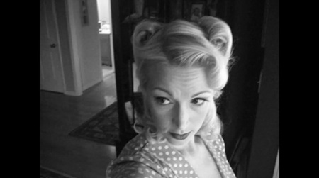 1940's Hair Reverse Victory Rolls