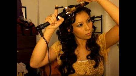 Wavy Beyonce Hair Tutorial