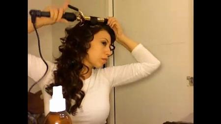 Super Curly Kim Kardashian Tutorial