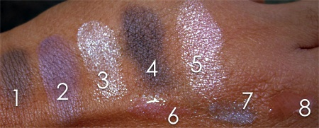 Bobbi Brown Platinum Collection Swatches