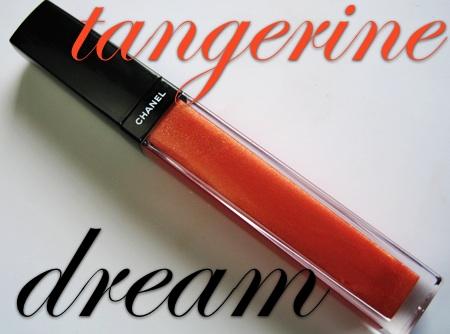 chanel summer 2009 cote dazur tangerine dream aqualumiere gloss