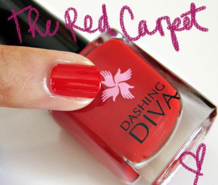 dashing diva  the red carpet